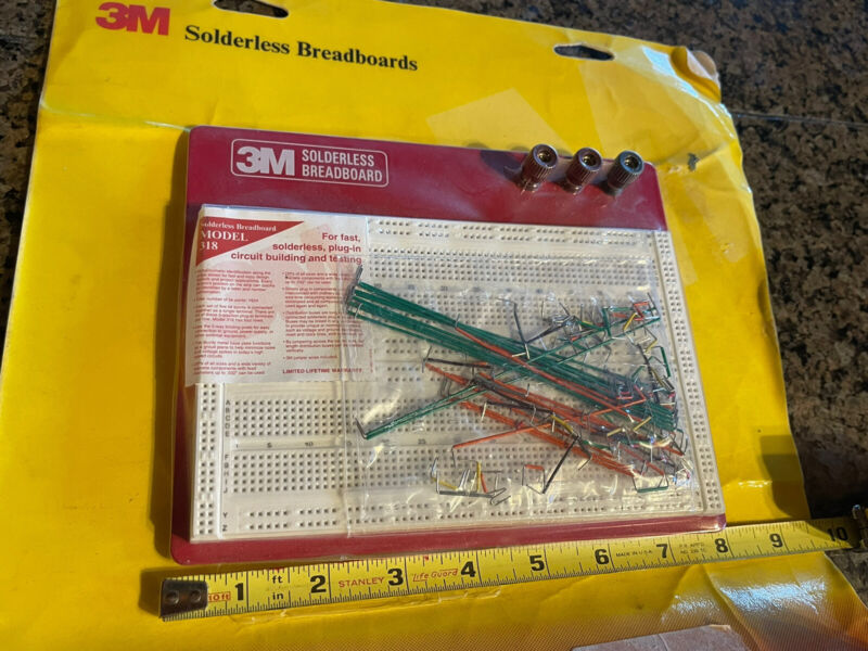solderless Breadboard 3M MODEL318