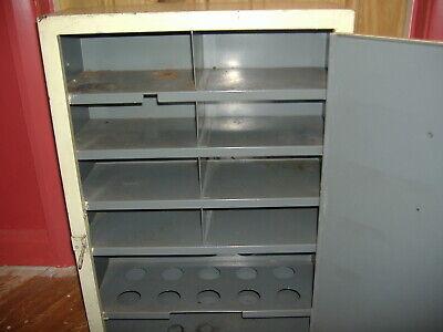 Vintage Engineers  Retro Metal Cabinet