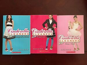 Cinderella Cleaners books 1,2, and 6