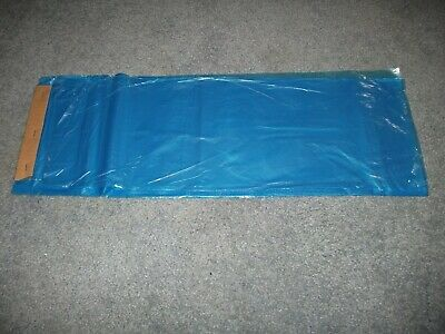 Poly Newspaper Bags 700 Ct. Blue Tint. 7 12x 21 0.7mil Grade.