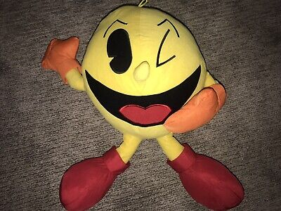 """Pac-Man 22"""" Pac-Man Plush Licensed Brand New With Tags"""