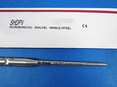 Dental Microsurgical Scalpel Handle Stainlees Steel Shdpv Hu Friedy