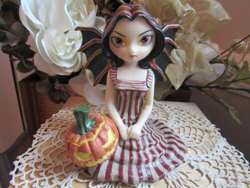 JASMINE BECKET GRIFFITH HALLOWEEN TWILIGHT Fairy Figurine New in Box RETIRED!