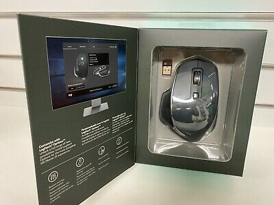 Logitech MX Master 2s - Wireless Bluetooth Computer Laser Mouse - Graphite