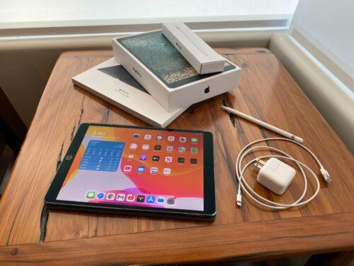 "Apple iPad Pro 10.5"" 2nd Gen 256GB Wi-Fi + LTE Unlocked Space Gray w/accessories"