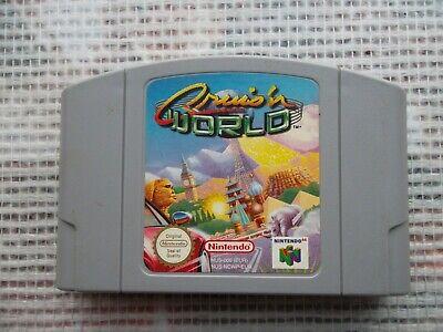Jeu Nintendo 64 / N64 Cruis'n World PAL retrogaming original* save ok