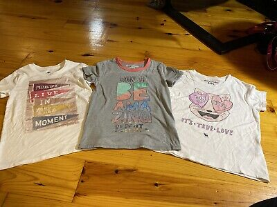 Girls Size 9/10 Abercrombie Kids Shirts Short Sleeve Lot Of 3