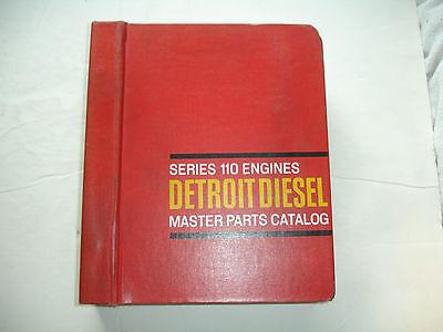 Series Parts Catalog Manual (Rare Detroit Diesel Series 110 PARTS CATALOG Maintenance Service Shop Manual OEM)