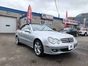 2007 Mercedes-Benz CLK-Class ACCIDENT FREE_CONVERTIBLE_LEATHER S