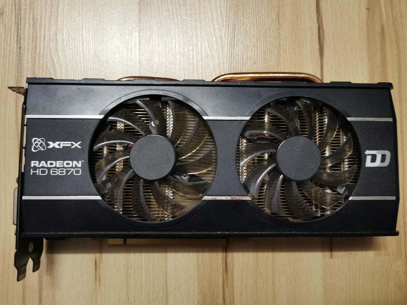 XFX ATI Radeon HD 6870 (1024 MB) (HD-687A-ZHFC) Grafikkarte