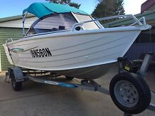 Boat stacer 4.40m extra wide 2005 with 40hp mariner Campbelltown Campbelltown Area Preview