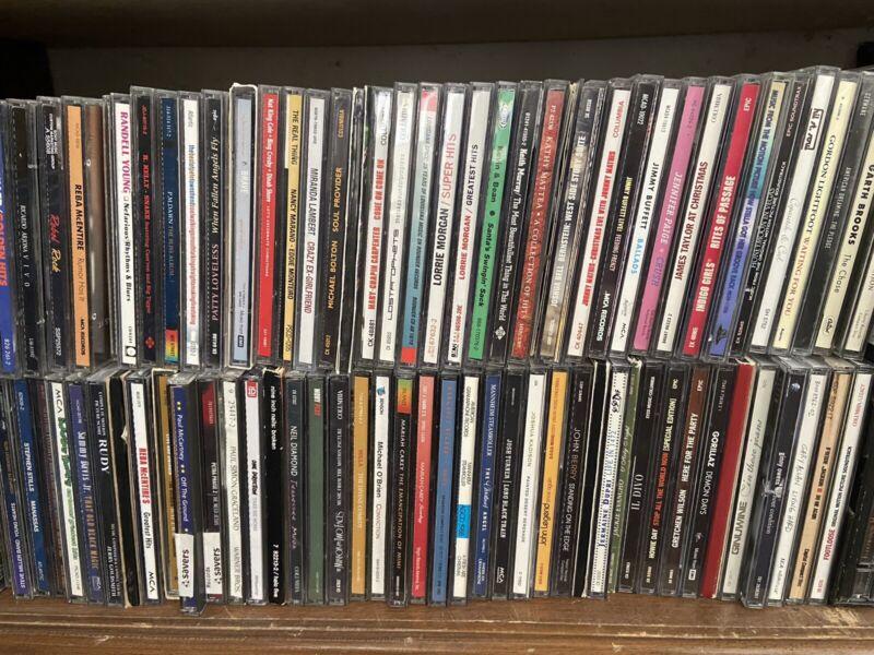 CD Lot Pick & Choose $2 Each Many Artists