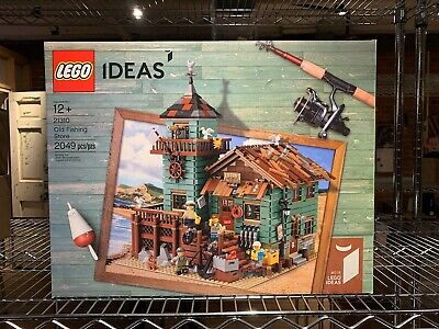 LEGO Ideas Old Fishing Store 2017 (21310) Retired Set Exclusive Sealed Rare
