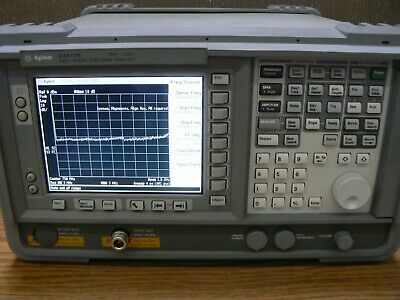 Hp Agilent E4411b Esa-l Spectrum Analyzer 9khz-1.5ghz 50 Ohm Input