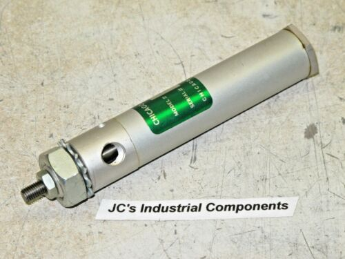 """Chicago Cylinder    3/4""""  bore  X  2""""  stroke    pneumatic cylinder    D-6-2"""