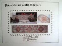 1944 Workbasket Embroidery Transfer Pattern 2-902 Home Sweet Home Sampler Dutch