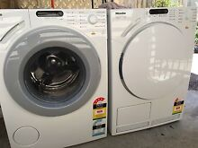 Miele W1913 honeycomb washing machine and T7944 condenser dryer Epping Ryde Area Preview