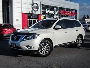 2015 Nissan Pathfinder SL, 4WD, NAVIGATION, LEATHER, MOONROOF, B