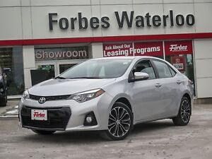 2015 Toyota Corolla 1 OWNER! S UP-GRADE NEW TIRES