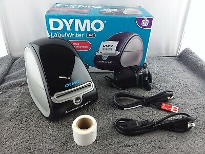 Dymo Labelwriter 450 Label Printer With Pc Mac Connectivity No Inktoner Used