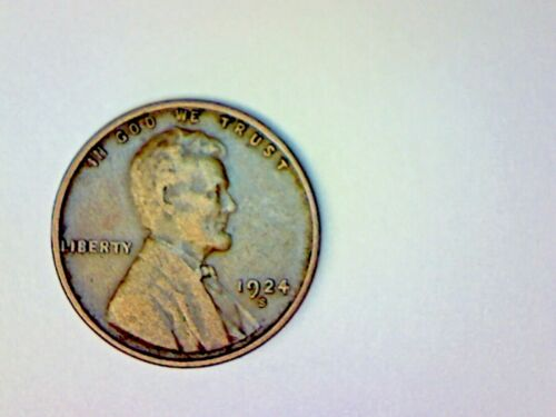 1924 S LINCOLN WHEAT CENT LOT 1M