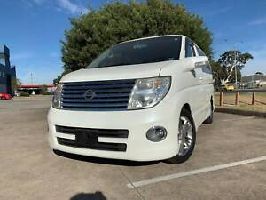 2005 Nissan Elgrand E51 Highway Star Dual Sunroof Inc Tow Bar Thomastown Whittlesea Area Preview