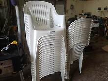 Plastic outdoor Chairs West Swan Swan Area Preview