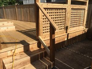 LeBlanc's outdoor Woodworks. Custom Carpentry