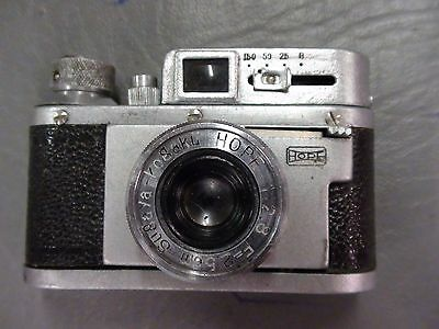 Rubix SSK SUBMINIATURE SPY CAMERA W/ 25mm Hope Lens & LEATHER CASE - RARE