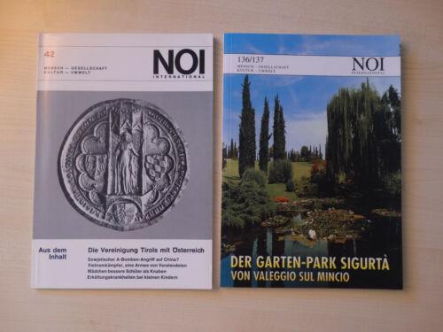 Zeitschrift NOI International (2 Ausgaben)