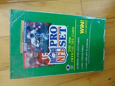 1990 NFL Pro Set Football Box Sealed Brand New CARD COLLECTION SALE -
