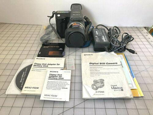 Sony Mavica MVC-FD95 20x Camera Digital Photos and Video