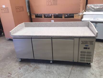 NEW Stainless Steel GRANITE TOP Pizza Counter 2025×800×1000mm