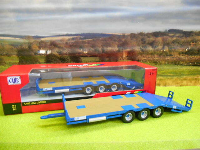 BRITAINS FARM KANE TRIAXLE LOW LOADER TRAILER 43006 1/32 *BOXED & NEW*