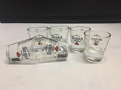 6 Sierra Tequila Shot Gläser 2 cl - NEU