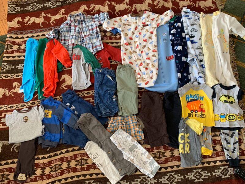 Toddler boy 25 Piece Lot clothes Size 9 Months