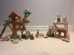 Lots of Calico Critters items