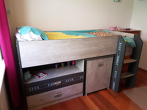 Bunk bed with mattress. Iluka Joondalup Area Preview