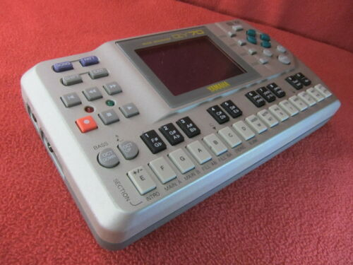 Excellet+ Yamaha QY70 Mobile Sequencer New Battery Installed MIJ Used from Japan
