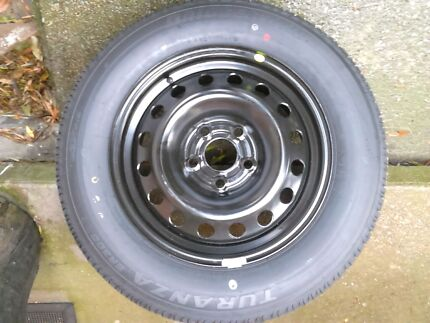 2 brand new holden commodore ve 16 inch steel wheels and tyres Charlestown Lake Macquarie Area Preview