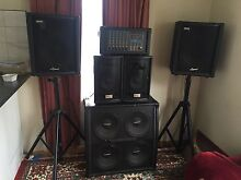 Full sate of speakers with echo system Doveton Casey Area Preview