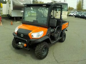 2013 kubota Rtv X900 4x4 Diesel Side by Side with Manual Dump Bo