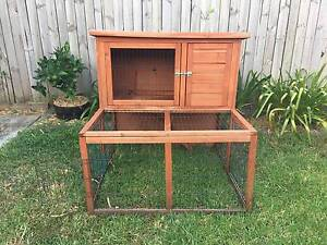2 Story Wooden Rabbit Hutch Cage Marrickville Marrickville Area Preview