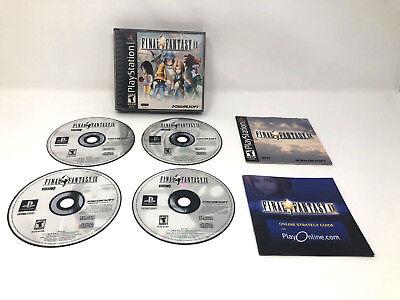 Final Fantasy IX 9 Black Label Playstation 1 PS1 Complete CIB with Manuals d'occasion  Expédié en Belgium