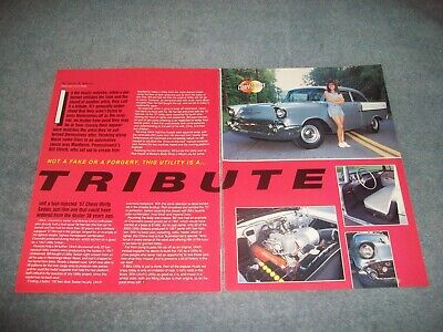1957 Chevy 150 Utility Sedan Fuel Injected