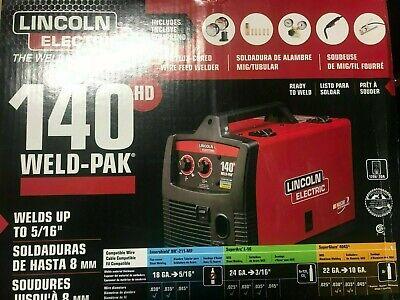 Lincoln Electric K2514-1 140 Hd Weld-pak Migflux-cored Wire Feed Welder