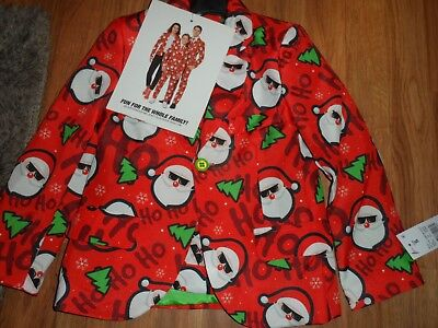 boys ugly sweater suit christmas ~ pants jacket tie ~ medium  for sale  Pittsburg