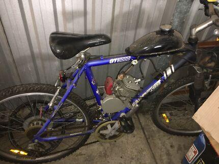 Motorised bike 80cc