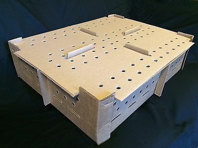 Chick Shipping Boxes-Holds 100-400 Day Old Chicks - Package of 20 boxes