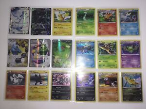 Pokemon Black and White Full Art and Holo Cards Lot Mint/NM